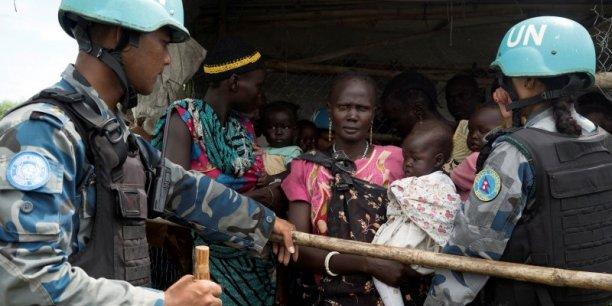Le budget de la  mission des Casques bleus au Soudan du Sud sera amputé de 100 millions de dollars.