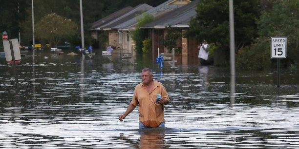 La gravité de la catastrophe en Louisiane a conduit le gouverneur de l'Etat, John Bel Edwards, à la qualifier de sans précédent.