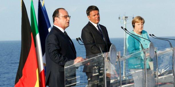 François Hollande, Matteo Renzi et Angela Merkel se sont réunis hier en Italie pour discuter de l'avenir de l'Union Européenne post-Brexit.