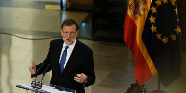 Mariano Rajoy veut empêcher le référendum catalan.