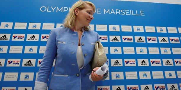 Margarita Louis-Dreyfus s'apprête à laisser sa place de propriétaire du club à Franck McCourt.