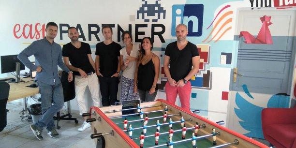 Easy Partner, implantée à Aix-en-Provence et Paris, veut apporter du nouveau au secteur du recrutement.