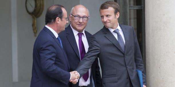 Emmanuel Macron a rencontré François Hollande ce mardi à 15 heures pour lui annoncer son départ du gouvernement. (photo d'archive)