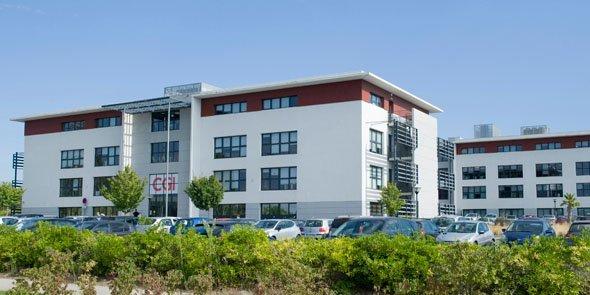 Le site montpelliérain de CGI à Castelnau-le-Lez, près de Montpellier