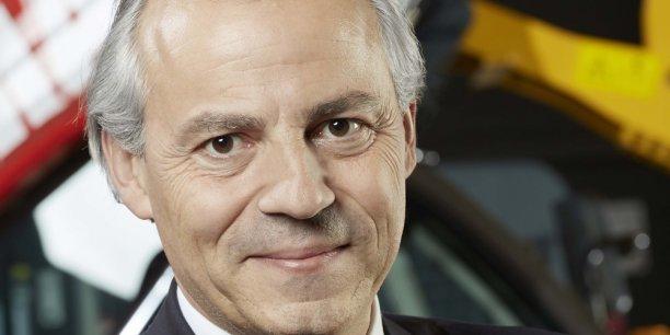 Michel Denis, CEO Manitou Group, vient de finaliser la construction d'une unité de production chariots élévateurs de 7.000 m², à Vinhedo, dans l'Etat de São Paolo. La première en Amérique du Sud.