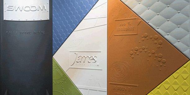 Swoom, la première tête de lit en 3D, brevetée par l'entreprise James Ebénistes.
