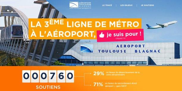 Capture d'écran avant le lancement officiel du site.