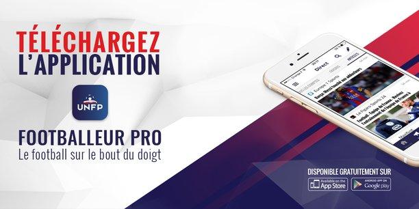 L'application mobile Footballeur Pro est disponible depuis le 8 septembre 2016