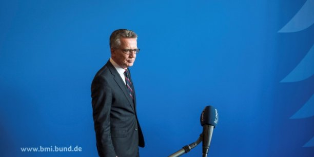 German interior minister thomas de maiziere arrives for a statement in berlin[reuters.com]