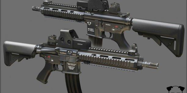 Heckler & Koch a gagné la compétition face au belge FN Herstal, l'italien Beretta, le suisse Swiss Arms, et le croate, HS Produkt et remplacera le FAMAS qui équipait l'armée française
