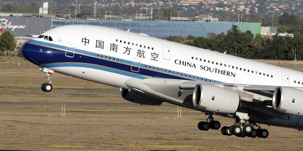 China Southern est la seule compagnie chinoise à avoir commandé l'A380