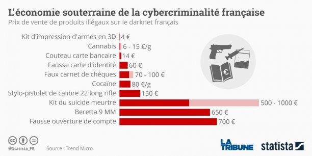 Alors que l'underground français n'est pas comparable à ses homologues étrangers en terme de taille et de puissance, son offre spécifique en fait néanmoins une niche très particulière de l'économie cybercriminelle.