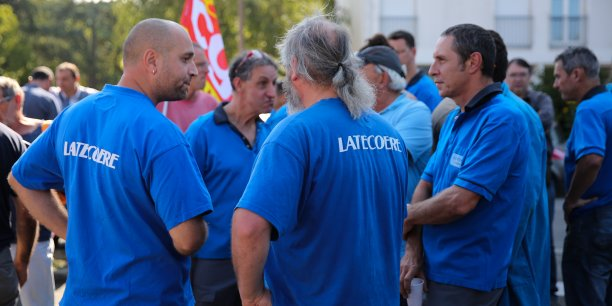 Manifestation le 21 septembre dernier devant le siège de Latécoère.
