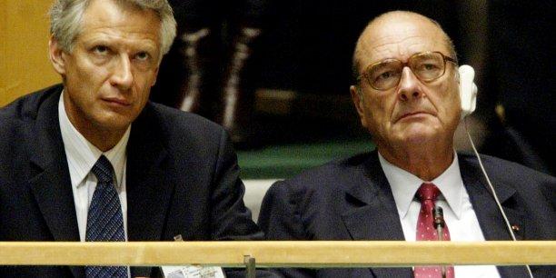 Auréolé par son discours contre l'intervention américaine en Irak en 2003, Dominique de Villepin continue à prêcher une baisse de la militarisation tout azimut adoptée par les puissances occidentales.