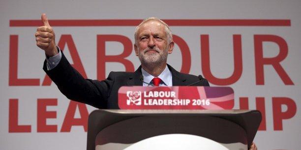 Jérémy Corbin représente l'aile gauche du parti travailliste britannique.