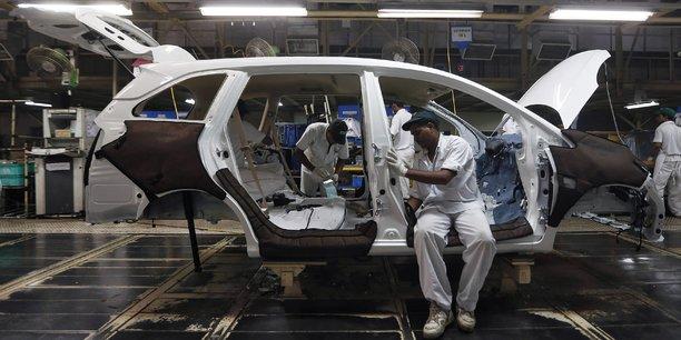 L'an passé, la Corée du Sud avait produit 4,55 millions de voitures (+0,7% sur un an), contre 4,12 millions pour l'Inde (+7,3%).