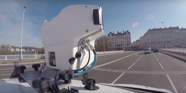 La création de données urbaines, l'un des quatre projets lyonnais d'Opticities