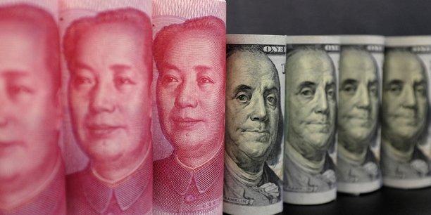 A l'heure actuelle, le renminbi ne peut fluctuer face au dollar que dans une fourchette de 2% de part et d'autre d'un cours-pivot fixé quotidiennement par la banque centrale