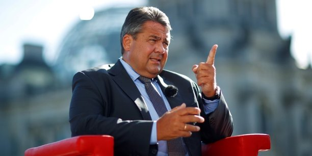 Sigmar Gabriel s'est montré offensif envers les dirigeants de Deutsche Bank.