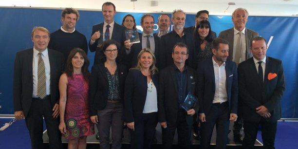 Les prix Smart City Marseille ont été remis en présence notamment de Dominique Tian, premier adjoint au maire de Marseille, de Caroline Pozmentier, en charge de la sécurité ainsi que de Marc Thiercelin.