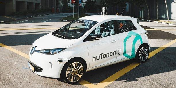NuTonomy, le premier service de taxi autonome au monde.