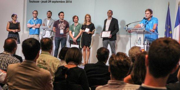 Citymeo a remporté le Grand Prix des Trophées de l'économie numérique