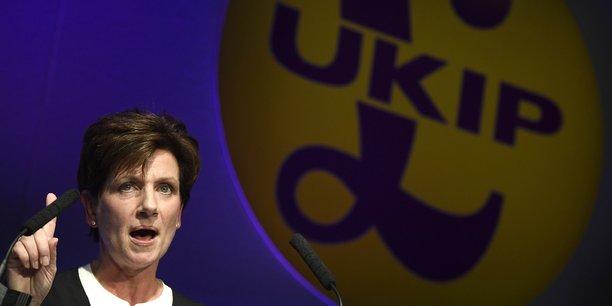Il va falloir qu'il y ait du changement, déclarait Diane James dans son discours d'investiture lors du congrès du parti à Bournemouth (photo).