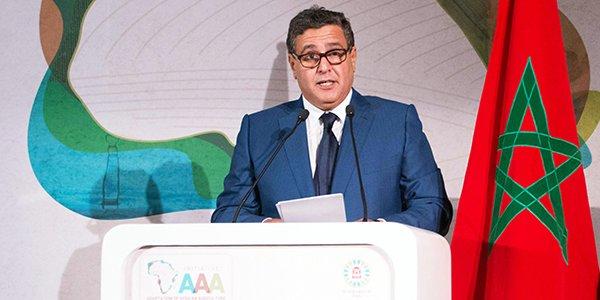 Aziz Akhannouch, ministre marocain de l'Agriculture et de la Pêche maritime.
