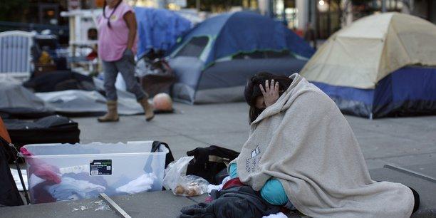 6.686 personnes vivaient dans les rues de San Francisco, en 2015.