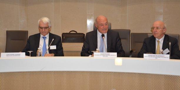 Jean-Pierre Giannini, Alain Rousset et François Geleznikoff