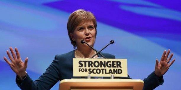 Nicola Sturgeon, premier ministre écossaise, a annoncé qu'elle lançait un nouveau référendum sur l'indépendance.