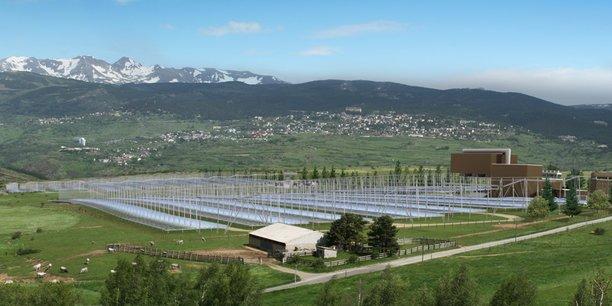 Le site, à Llo dans les Pyrénées-Orientales, sera équipé de plus de 92 000 miroirs