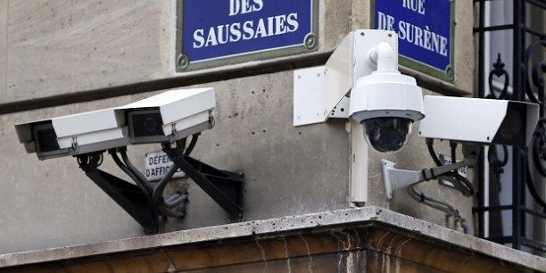 L'installation des caméras de vidéosurveillance a dopé la croissance du marché de la sécurité privée.