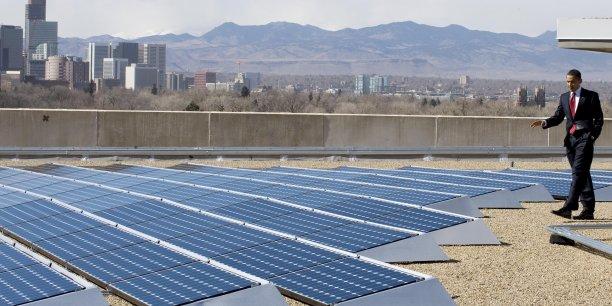 Obama mise sur les bénéfices économiques de la transition énergétique pour convaincre Trump