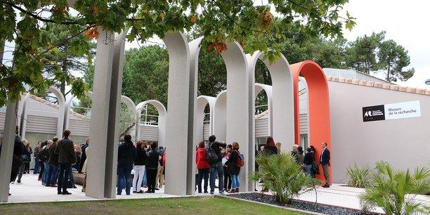 La Maison de la recherche de l'Université Bordeaux Montaigne a bénéficié d'un investissement de 1,54 M€.