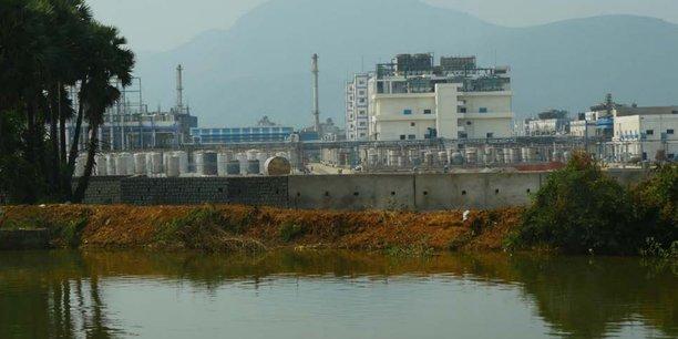 Une usine de la société pharmaceutique Aurobindo.