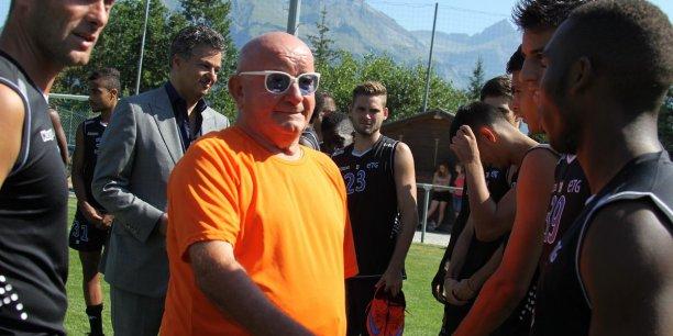 A l'époque sponsor du club de football ETG FC, Yves Bontaz ne voulait pas se contenter d'être un actionnaire minoritaire.
