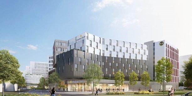 Les projets mélangeant logements, bureaux et locaux commerciaux se multiplient à Bordeaux.