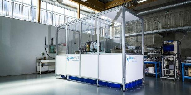 Kemwatt vient de tester son  premier prototype industriel de 10 kW.