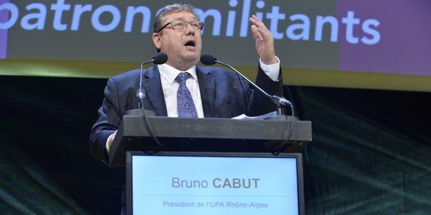Bruno Cabut, président de l'UPA Rhône-Alpes.