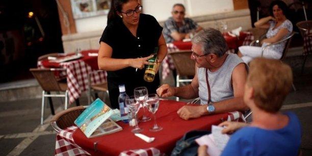 Les services ont tiré l'emploi espagnol au troisième trimestre.