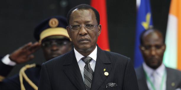 Idriss Déby Itno, président du Tchad