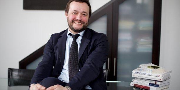 Jérôme Rive, directeur général de l'IAE Lyon