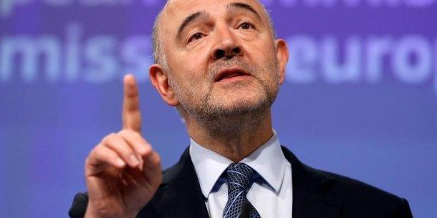 Commissaire européen aux affaires économiques et financières et à la fiscalité, Pierre Moscovici défend une base de calcul de l'impôt sur les sociétés commune à tous les pays européens