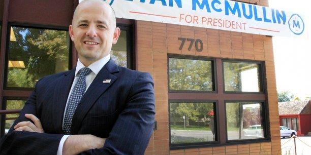Républicain dissident, Evan McMullin voudrait remporter l'Utah pour pertuirber l'élection présidentielle aux Etats-Unis.
