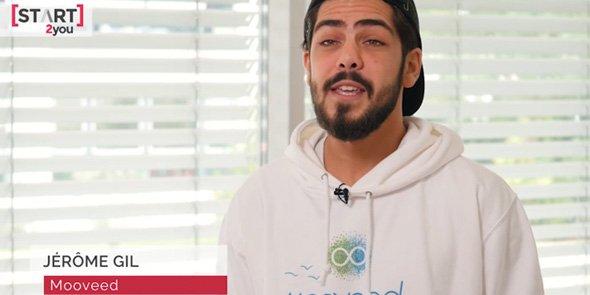 Jérôme Gil, co-fondateur de la start-up Mooveed, basée à Montpellier
