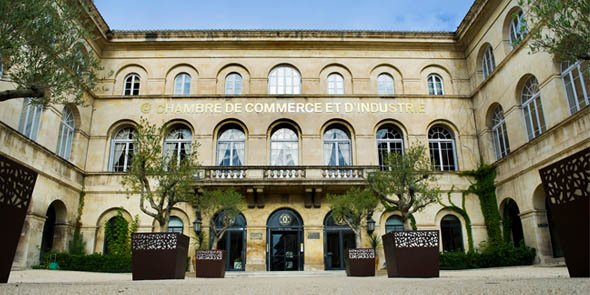 Les locaux de la CCI du Gard, à Nîmes