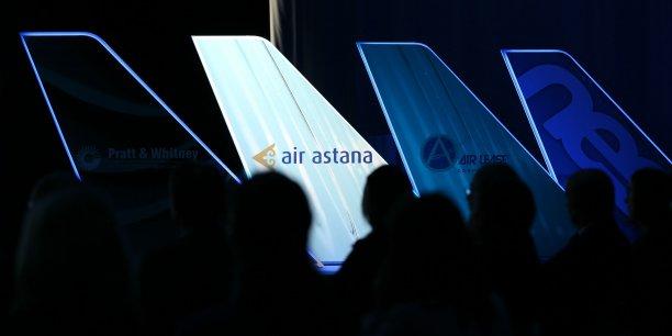 Air Astana a réceptionné son premier A320neo ce matin