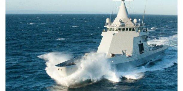 Le patrouilleur L'Adroit, développé sur fonds propres par DCNS, a été déployé dans de nombreuses zones de crise par la Marine nationale