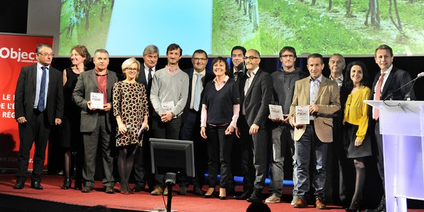 Les gagnants de la première édition de La Tribune Wine's Forum.